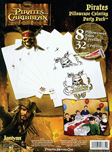 Disney Pirates Pillowcase Art Party (Caribbean Pillowcase Art)