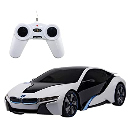 Buy Webby Bmw I8 Concept 124 Remote Control Sports Car White Online