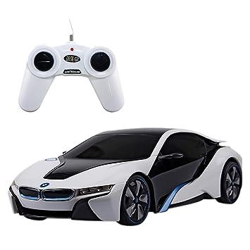 Saffire BMW I8 Concept 124 Remote Control Sports Car White