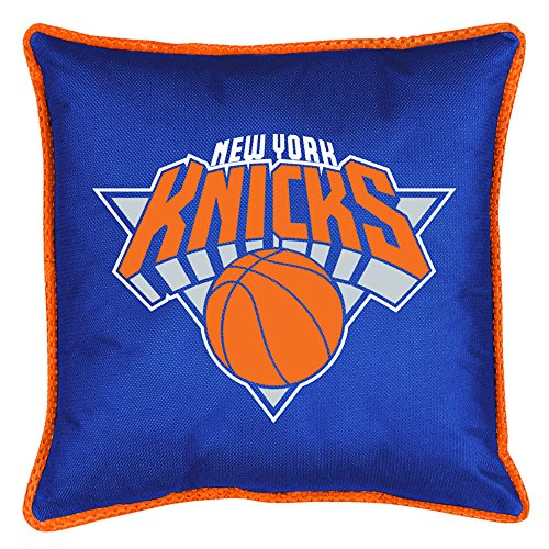 NBA New York Knicks Sidelines Toss Pillow, Bright Blue, One Size