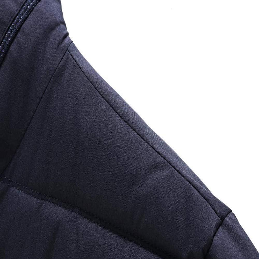 Mens Down Jacket,Casual Thermal Down Coat Slim Fit Outerwear Puffer Coat Top Zulmaliu