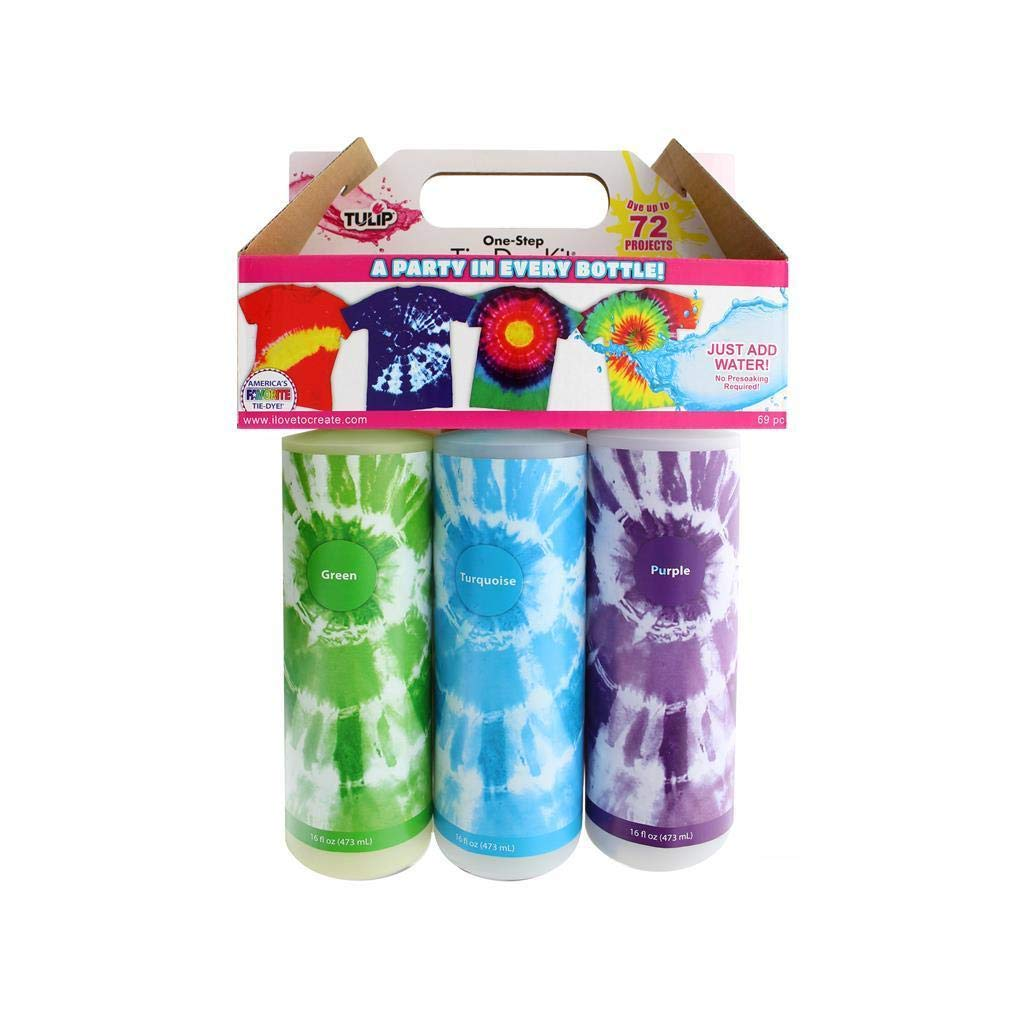TULIP ONE-Step TIE-DYE X-Large Block Party KIT