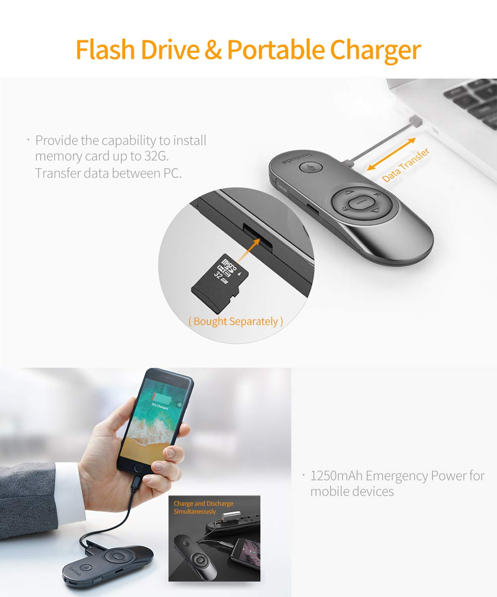 Amazon.com: Lujoso mando a distancia multifunción 5 en 1 con ...