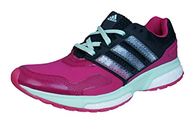 adidas Response Boost 2 Techfit Womens Running Sneakers/Shoes-Pink-5