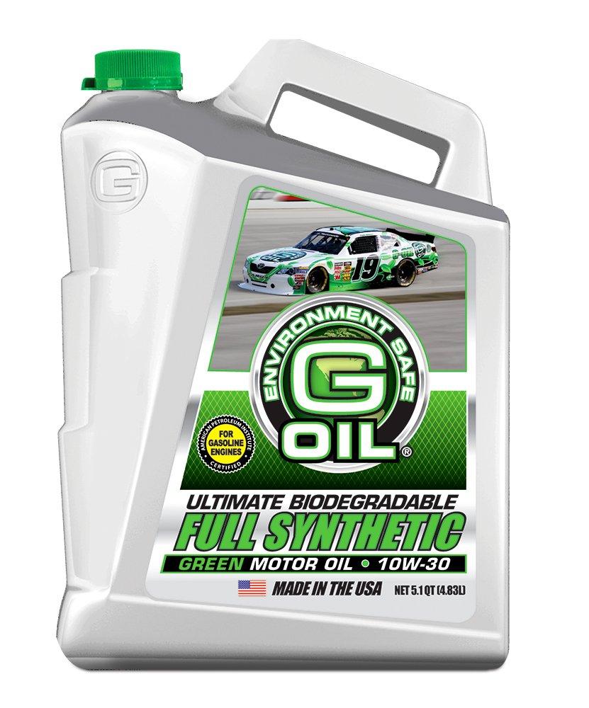 Green Earthテクノロジー1660 g-oil 10 W-30究極生分解性Full Synthetic Motor Oil – 5.1 Quart Jug B00BNVBEQY