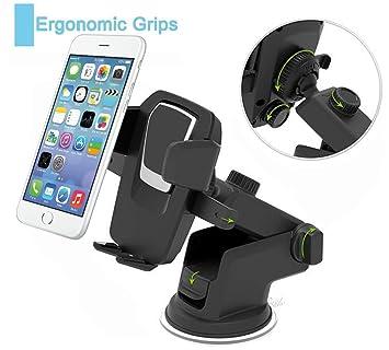 Horsky Soporte Móvil Coche Soporte Multifuncional de Smartphone de coche para GPS iPhone X 8 7