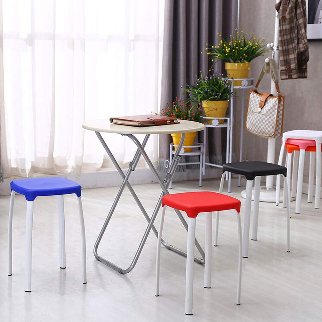 Amazon.com: YUN Stool Chair Casual Color Shoes Bench Thick ...