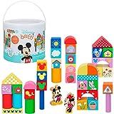 WOOMAX - Bloques Construcción bebé Juego construcción 40 piezas - Juguetes para apilar Equilibio y ordenar - Juegos de…