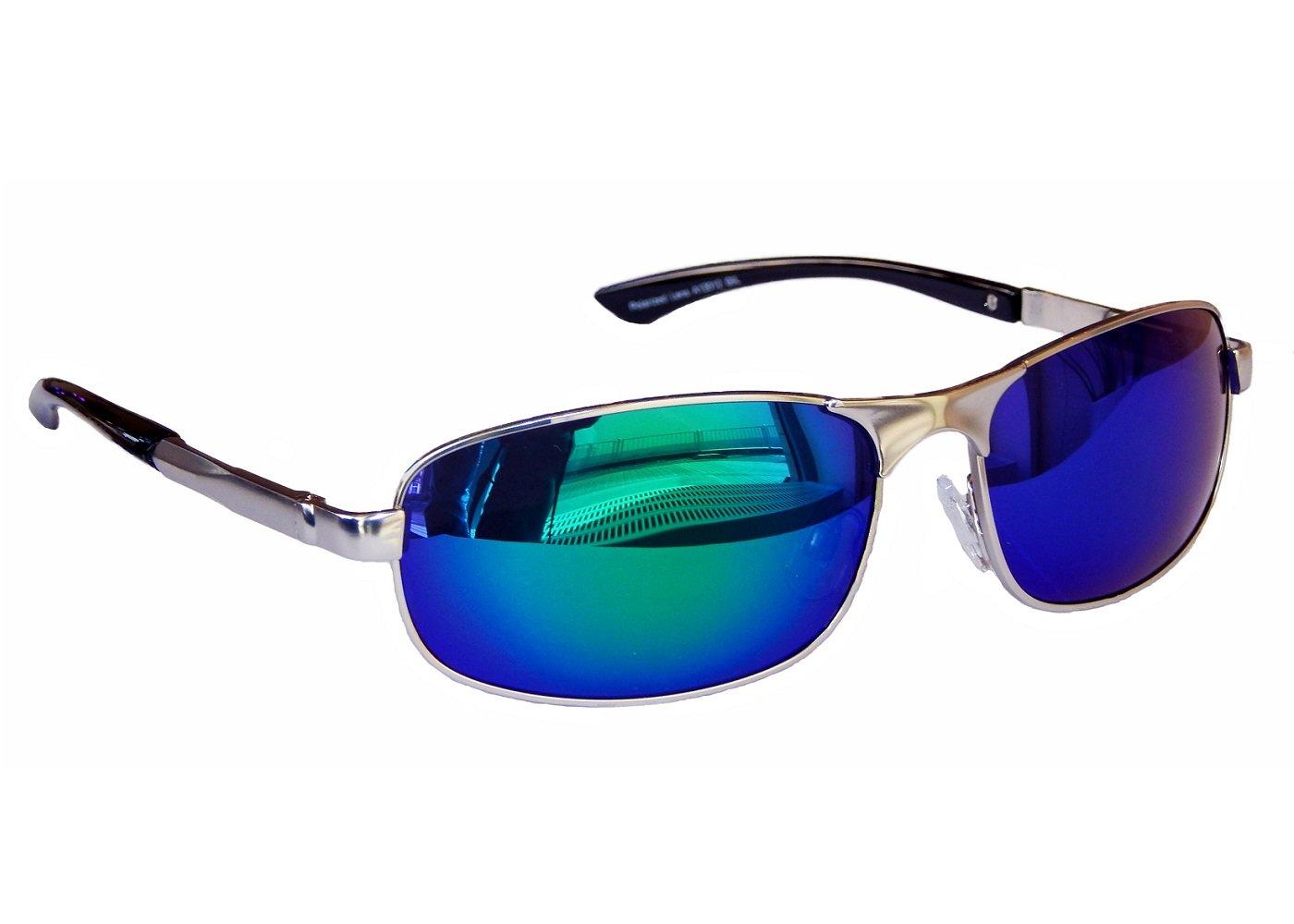 Matrix Sonnenbrille Sportbrille Motorradbrille Sport Brille Polarisiert M 3 (chrom Silber Grün Blau Verspiegelt) fKOGV6