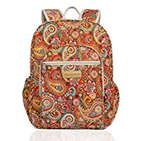 Malirona Canvas Campus Laptop Daypacks Backpack School Bags For Women And Men - Laptop Carrying, Trolley Sleeve, 7 Colors