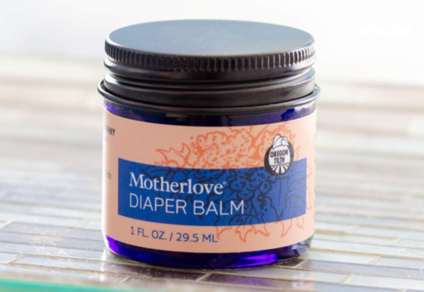 Motherlove - Diaper Balm, Antifungal & Antibacterial Herbs, Soothes Baby's Irritated Bottom, Cloth Diaper Safe Ointment, Free of Zinc Oxide & Petroleum, Formerly Known as Diaper Rash & Thrush, 1 oz. by Motherlove