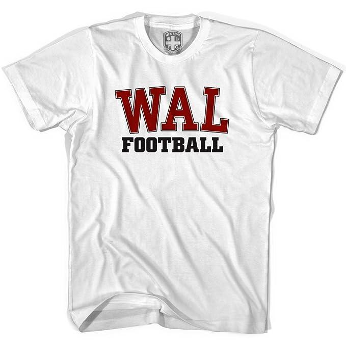 Gales Wal camiseta de fútbol Gris gris XL