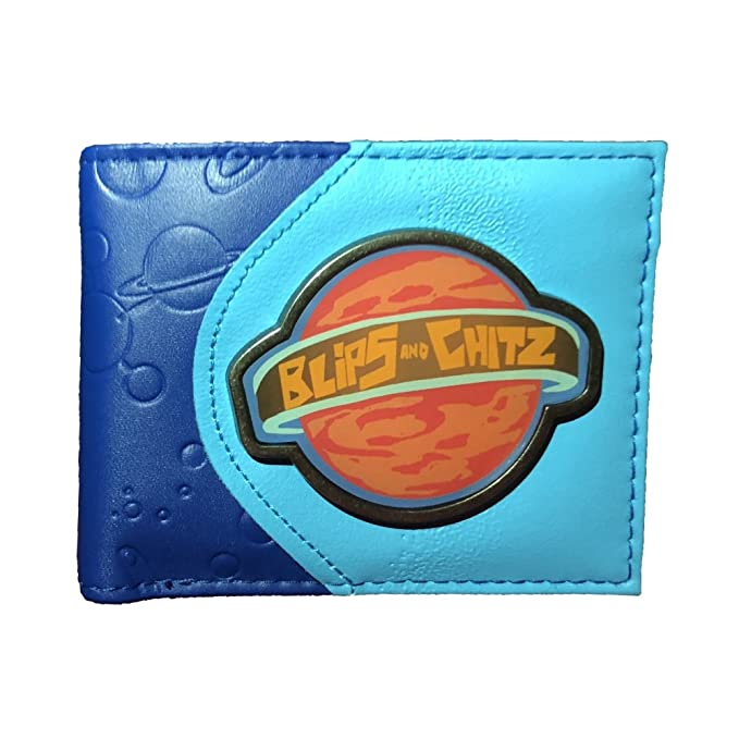 Amazon.com  Rick and Morty - Blips and Chitz Wallet  Clothing b2c99194ab6a4