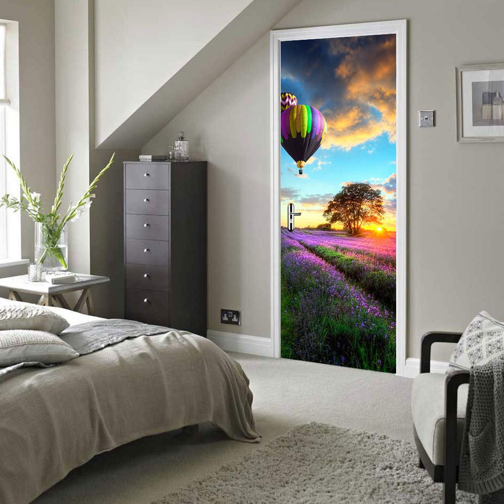 YuYa Kreative Landschaftsschönheitskarte Selbstklebende Selbstklebende Selbstklebende Türaufkleber-Wandaufkleber- C5 B07Q4W1JXG   Economy    2019    2019  10234f