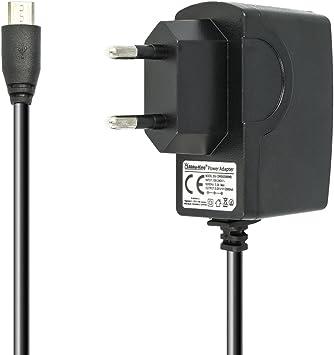 Akku-King Fuente de alimentación de 5 V 2 A 10 W | Micro USB ...