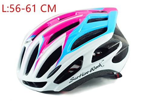 Szelyia Cycling Helmet Sports M L 54-61Cm Ultralight In-Mold Mtb Mountain Bike Cascos