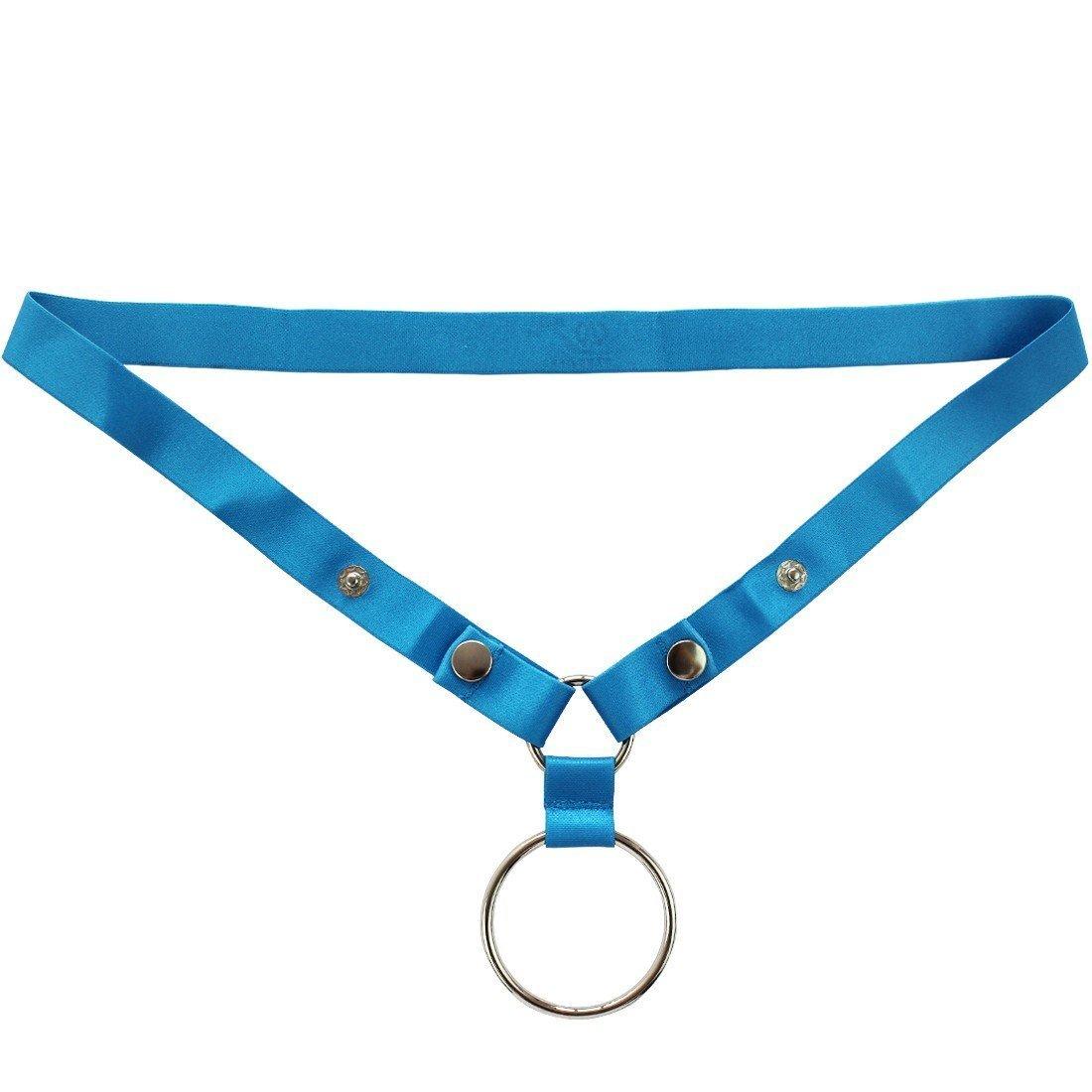 iEFiEL Men O Ring Lifter Button Enhance G-String Bikini Support Underwear