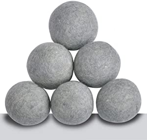SheepSheepSheep Sheep Laundry Balls Dryer XL Handmade Organic Wool Dryer Balls Laundry You Can Choose 3~9Package (6)