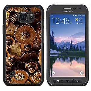 "Be-Star Único Patrón Plástico Duro Fundas Cover Cubre Hard Case Cover Para Samsung Galaxy S6 active / SM-G890 (NOT S6) ( Mecanismo de Tecnología del instrumento Dentro Arte"" )"