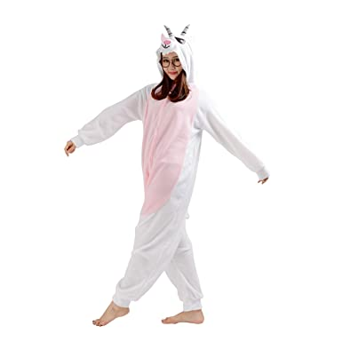 CuteOn Unisex Adult Onesie Pajamas Halloween Cosplay Christmas Costumes Goat Small  sc 1 st  Amazon.com & Amazon.com: CuteOn Unisex Adult Onesie Pajamas Halloween Cosplay ...
