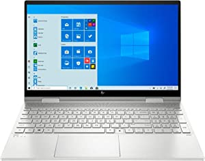 "HP - Envy x360 2-in-1 15.6"" Touch-Screen Laptop - Intel Core i5 - 8GB Memory - 256GB SSD - Natural Silver"