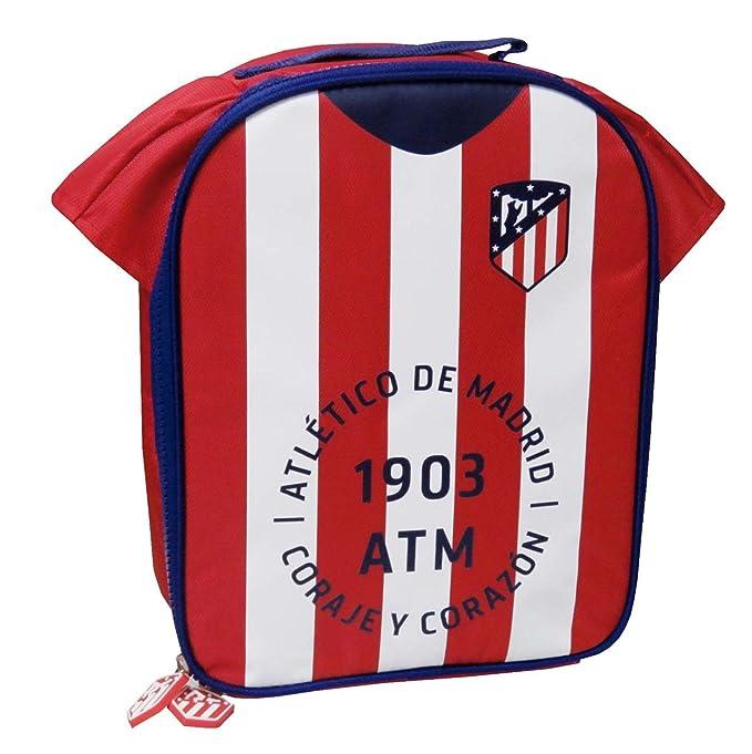 Atletico de Madrid LB-01-ATL Bolsa Isotérmica Camiseta: Amazon.es ...