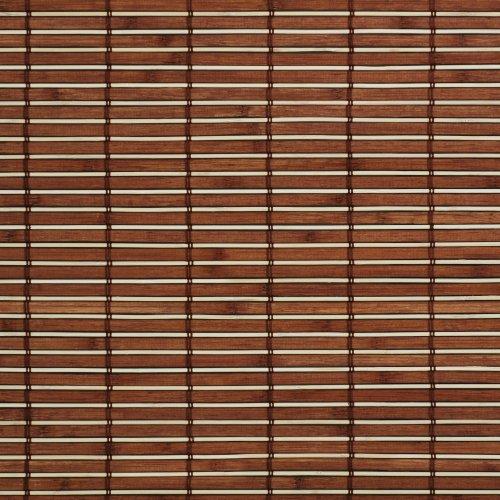 Gut gemocht Amazon.de: Liedeco Rollo Holz mit Seitenzug, Holzrollo für Fenster EO31