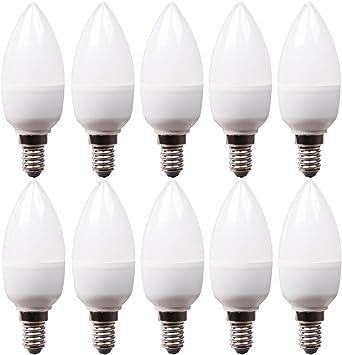 10 Stück Osram Kerzen Glühlampe matt 60W E14 dimmbar