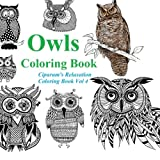 Owls Coloring Book: Relax and Unleash Your Creativity. A Coloring Book for Adults and Children