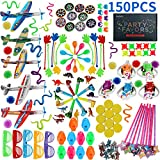 Amy & Benton 150PCS Carnival Prizes for Kids Birthday Party Favors Prizes Box Toy Assortment for Classroom