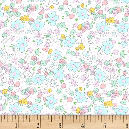 (Michael Miller 0565384 Best of Sarah Jane Meadow Spring Fabric by The Yard)