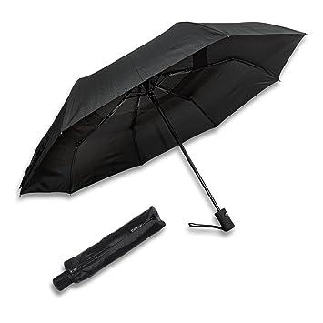 schramm® automáticamente pequeña bolsa paraguas sturmsicher a a automático Duo Matic revestimiento de teflón, Knirps