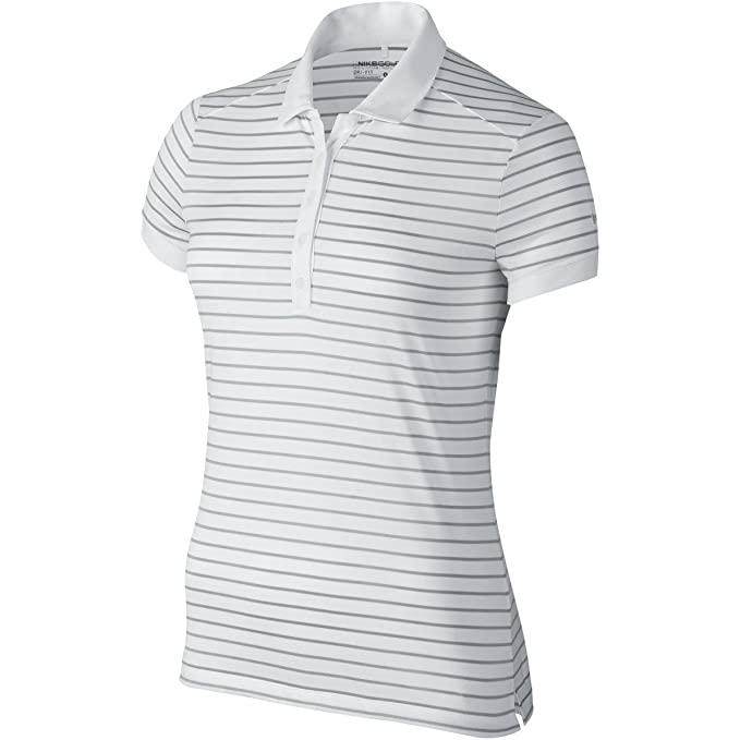 Nike Victory Stripe-Maglietta Polo da Donna: Amazon.it ...