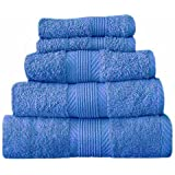 Catherine Lansfield Home 100% Cotton Hand Towel, Cobalt Blue