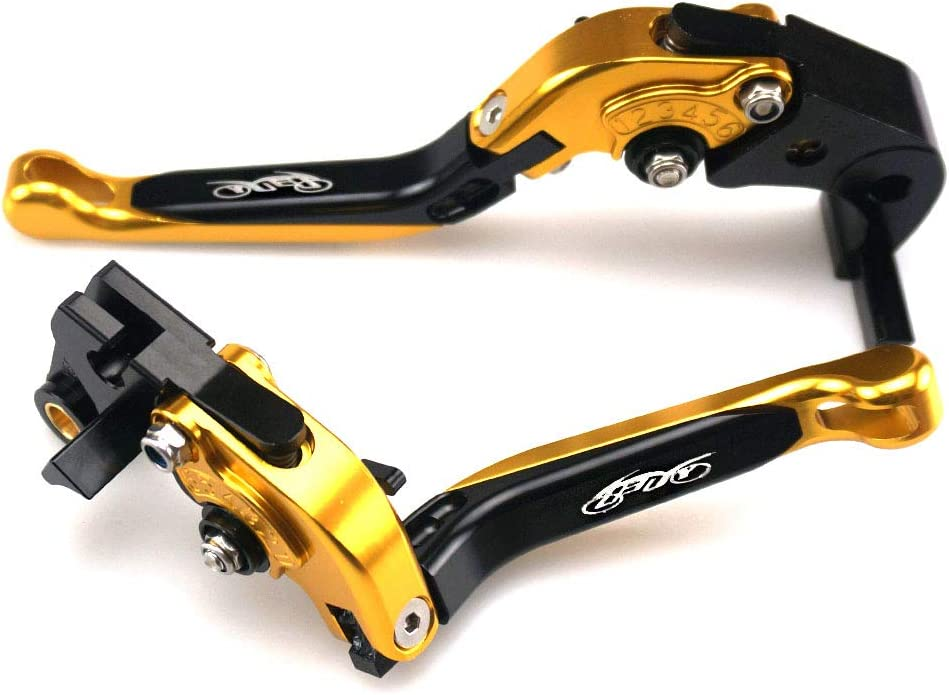 UBuy CNC Extendable Folding Brake and Clutch Levers for Aprilia TUONO V4 1100RR//Factory 2017 2018,RSV4//RSV4 FACTORY 2009-2018