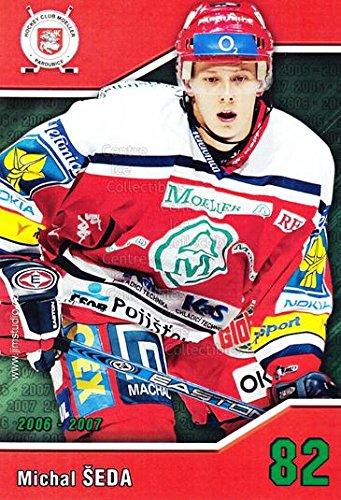 fan products of (CI) Michal Seda Hockey Card 2006-07 Czech HC Pardubice Postcards 19 Michal Seda