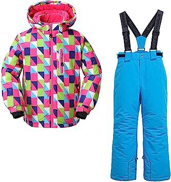 Amazon.com: Skijakkeset - Traje de nieve para niños y niñas ...