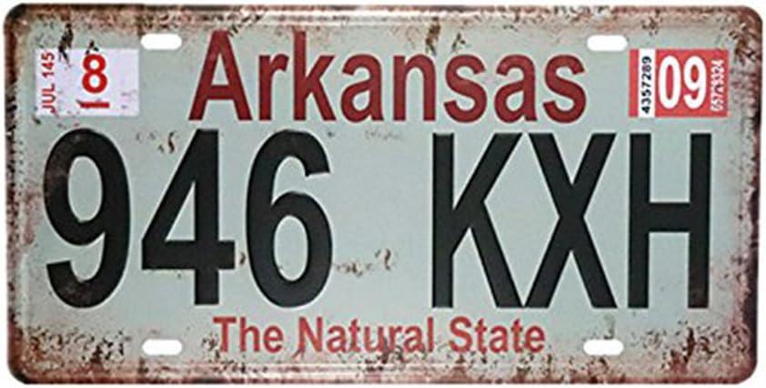 eureya Arkansas 946 kxh Auto de la matrícula coche etiqueta Home ...