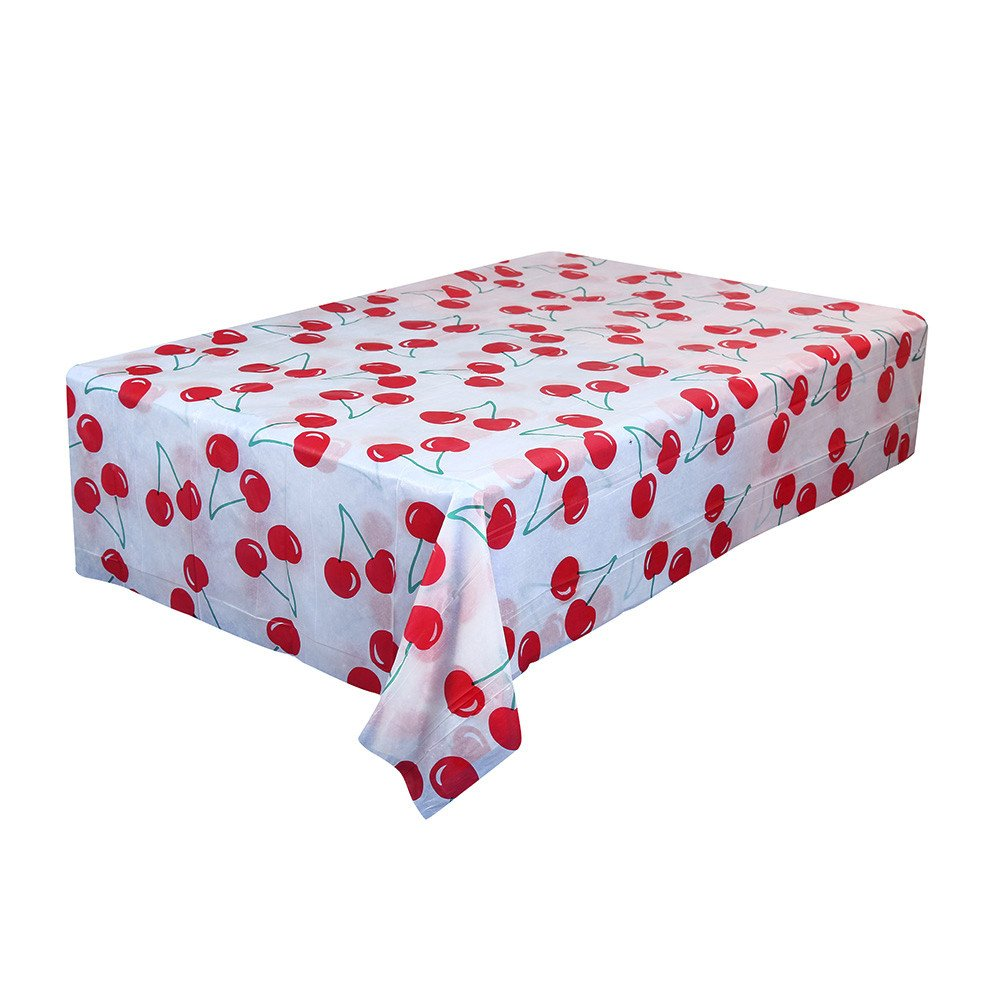 -Disposable Tablecloth Square Table Covers Waterproof Tablecloth Square Oilproof Disposable Table Runner for Kitchen Party Table Decor, 66.9X66.9'' 1PC (J)
