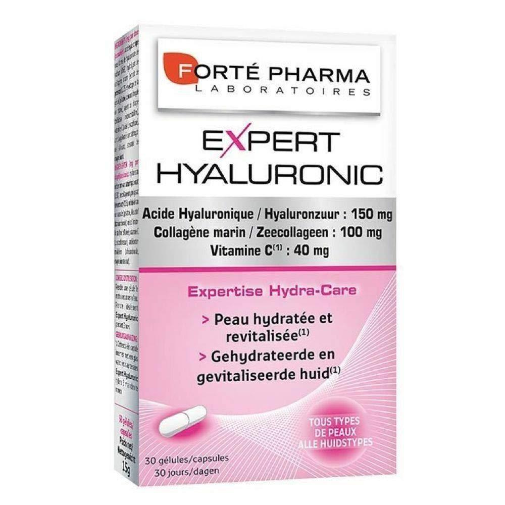 Forte pharma 30 capsules expert hyaluronic acid 150mg collagen vitamin c Gift For Your Health