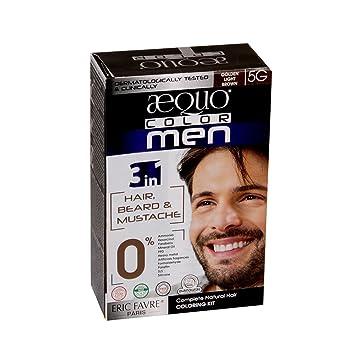 Amazon Com Aequo Color Men 5g Golden Light Brown Organic Hair