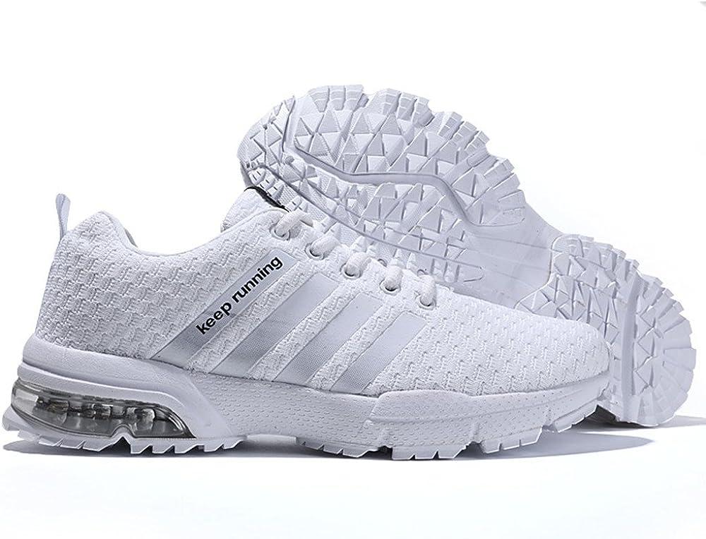 Zapatillas de Deportivas para Correr Mujeres Atletico Running Air Cushion 3cm Respirable Sneakers: Amazon.es: Zapatos y complementos