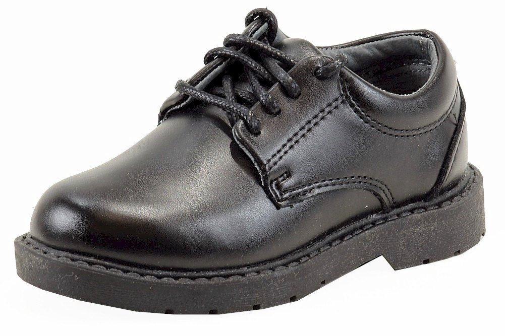 School Issue Scholar 5200 Uniform Shoe,Black Leather,6 M US Big Kid