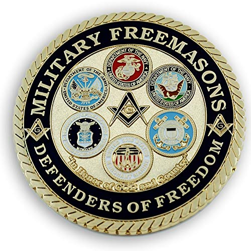 Military Masons Defenders of Freedom Round
