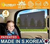 4 Pack-Universal car sun-shade to cover Windows & windshield a pre-cut static Cling tint sun- visor film screen for cars Jeep SUV RV Trucks, Protects Baby Kids & pets from Sun heat & Harmful UV ray