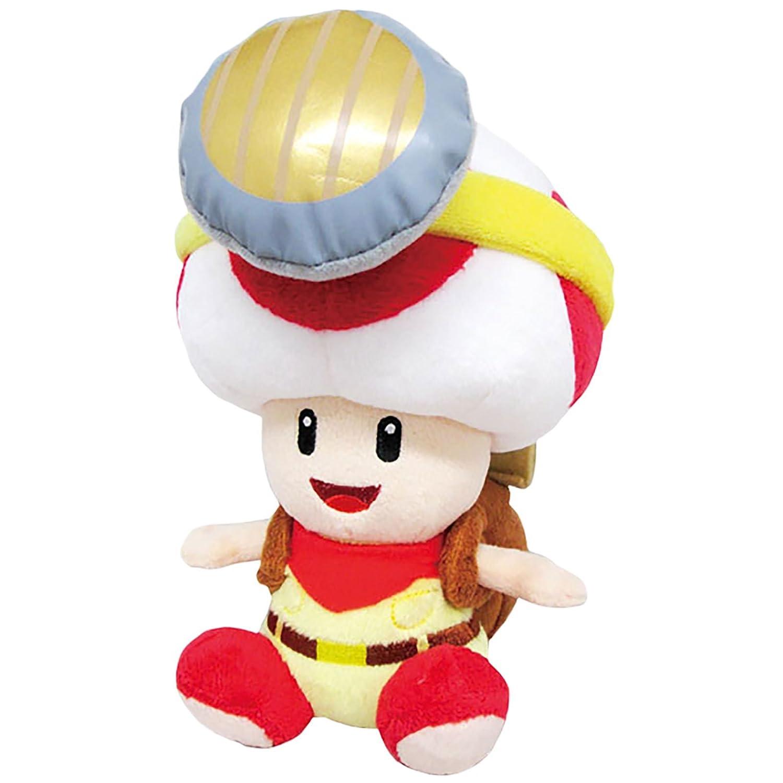 "autentico en linea Little Buddy Super Mario Bros. 6.5"" Captain Toad Toad Toad Sitting Pose Stuffed Plush by Japan VideoGames  comprar marca"