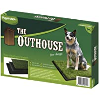 Playmate 41107 Outhouse for Dogs, Green, Medium
