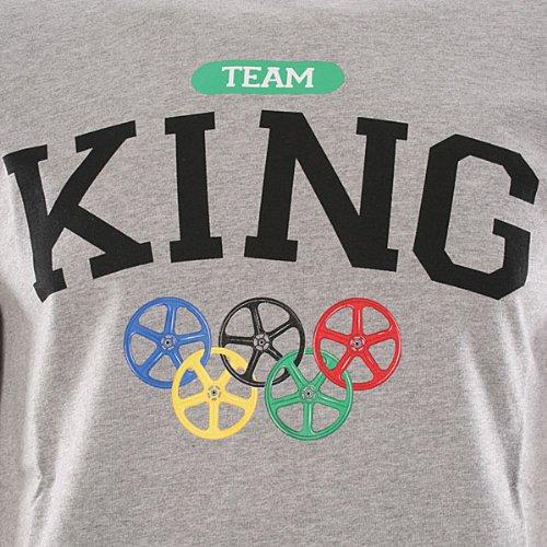 T-Shirt King Apparel ~ K-Team - grau-S