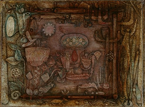 Berkin Arts Paul Klee Giclee Canvas Print Paintings Poster Reproduction … (Botanical Theater)