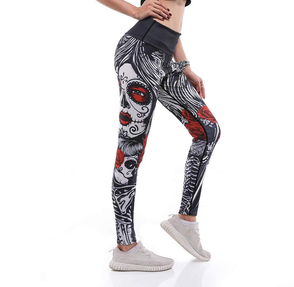 MAOYYMYJK Sternenhimmel Ahorn Körperformung Schlanker Sport Mit Atmungsaktivem, Schweißabsorbierendem 9-Punkte-Yogahosen Yoga-Hose für Damen